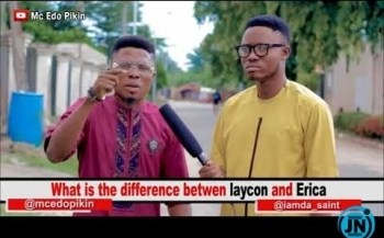 COMEDY VIDEO: Mc Edopikin - Difference Between Laycon And Erica
